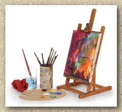Davinci collection complementi d 39 arredo oggetti da collezione - Cavalletto da pittore da tavolo ...