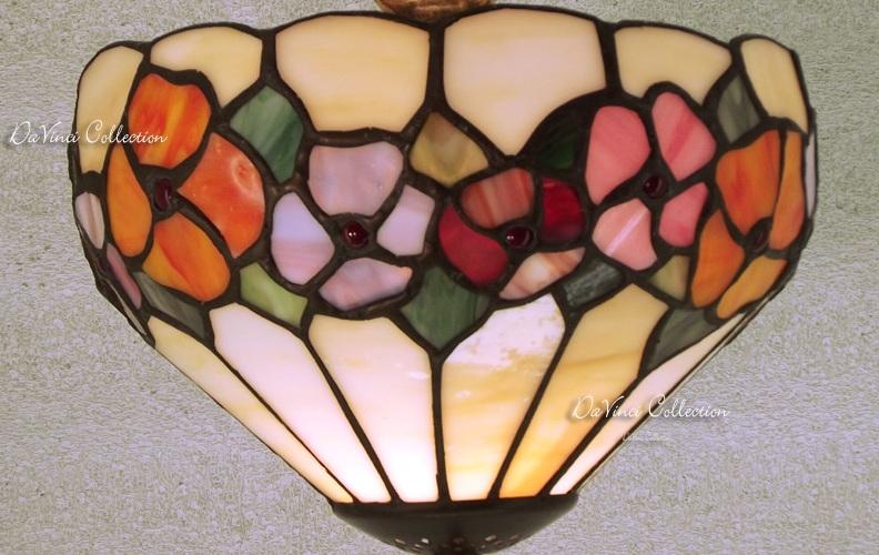 Applique tiffany lampada da muro tdv184f   davinci collection ...
