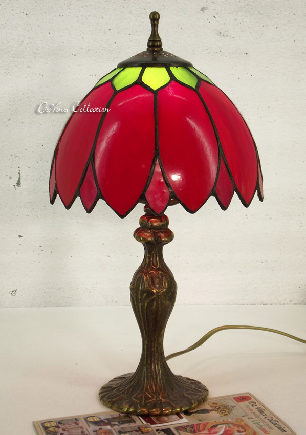 Lampada Tiffany Originale Liberty TDV187F - DaVinci Collection - Complementi ...