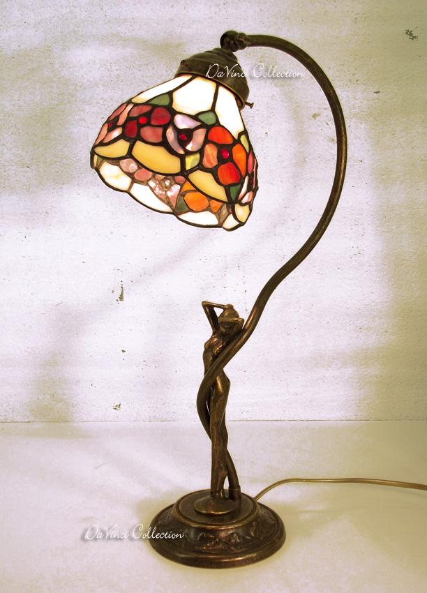 Lampada Tiffany Fiore di Loto TDV92f - DaVinci Collection ...