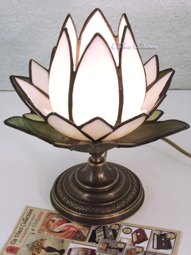 Lampada Fiore di Loto Tiffany TDV154F - DaVinci Collection ...