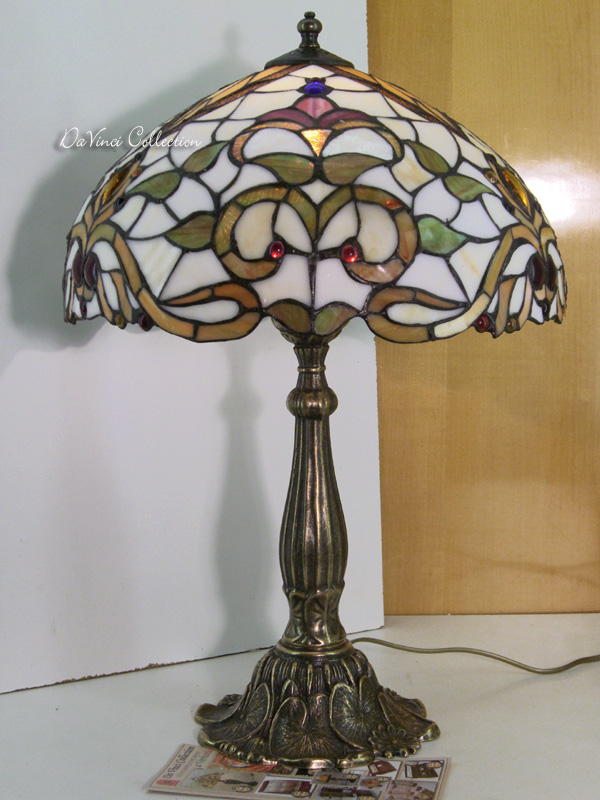 Lampada Tiffany Liberty TDV115F - DaVinci Collection - Complementi darre...