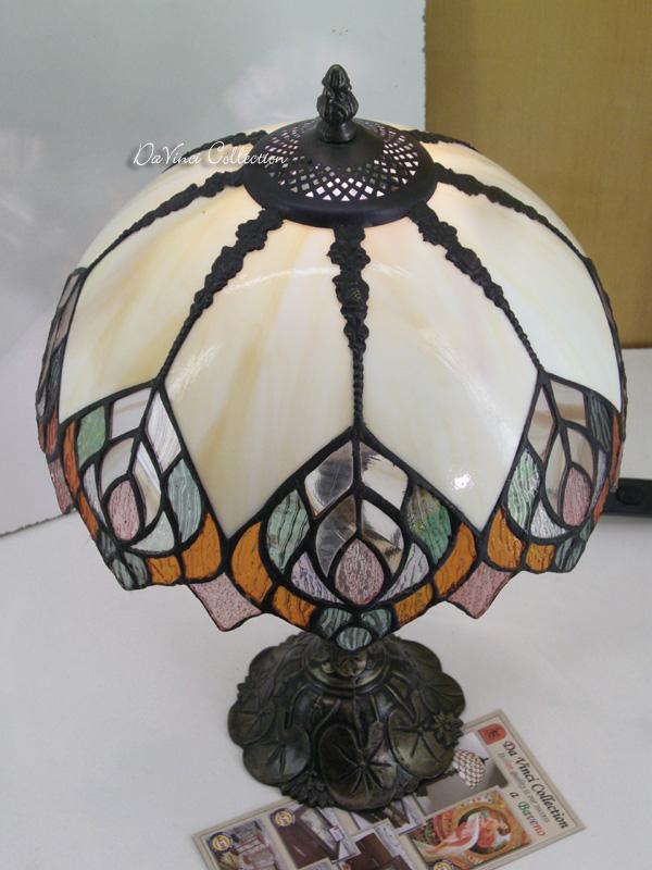 Lampada Tiffany Liberty TDV116F - DaVinci Collection - Complementi d ...