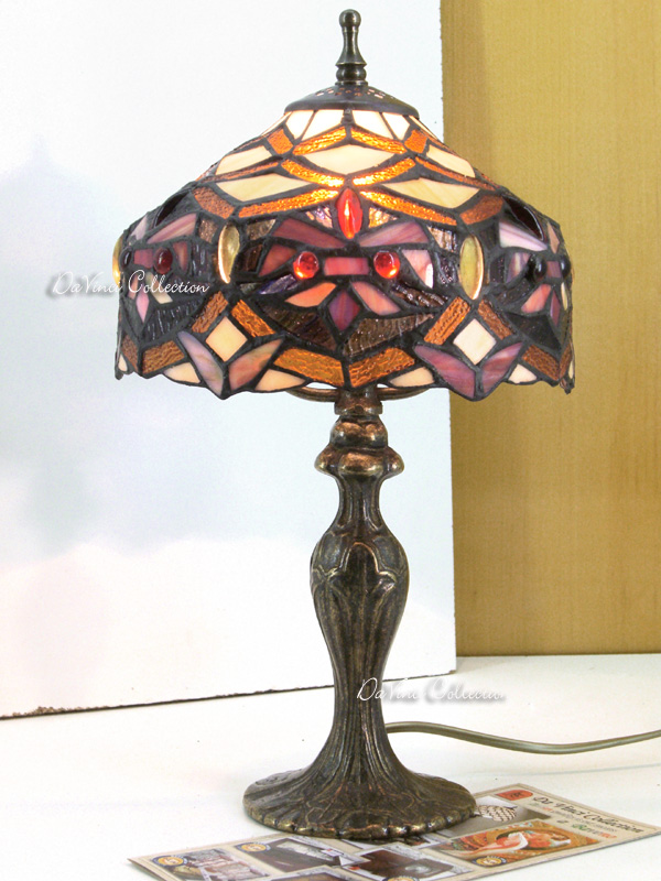 Lampada TIFFANY liberty TDV108F - DaVinci Collection - Complementi darre...