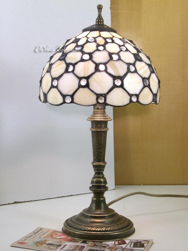 Lampada Tiffany Liberty da comodino TDV121F - DaVinci Collection - Complement...