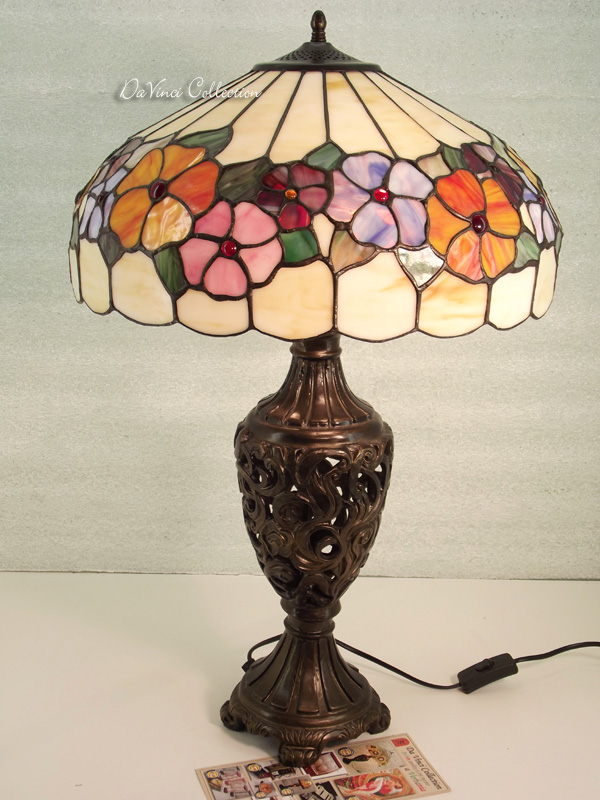 Lampada Tiffany Liberty TDV151F - DaVinci Collection - Complementi darre...