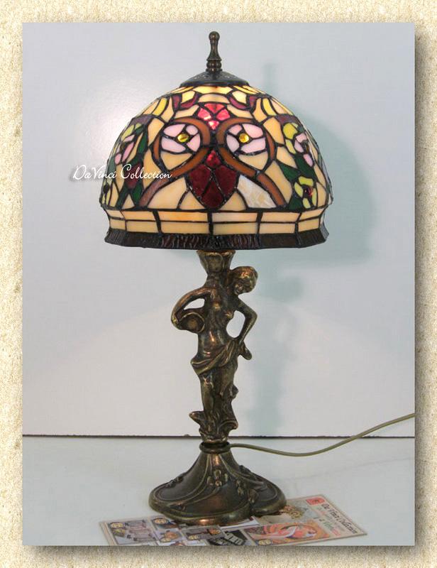 Lampada Tiffany Liberty Lamp TDV93f - DaVinci Collection - Complementi ...
