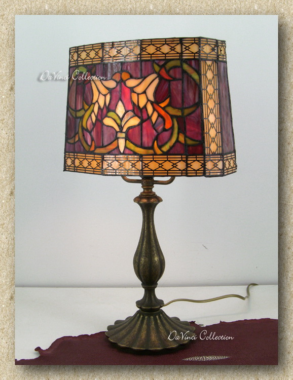 Lampada Tiffany Liberty TDV71f - DaVinci Collection - Complementi darred...
