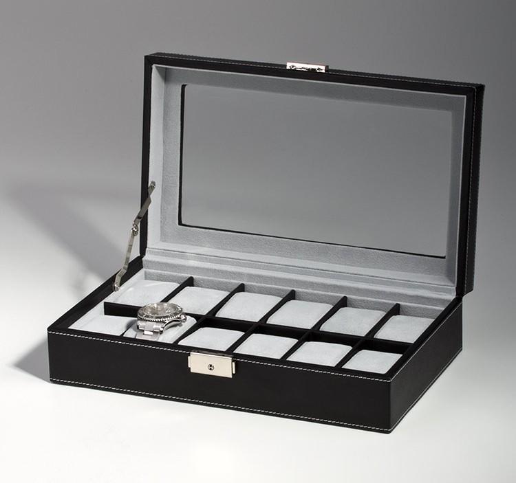 Zogin scatola porta orologi con 12 scompartimenti per - Porta orologi uomo ...