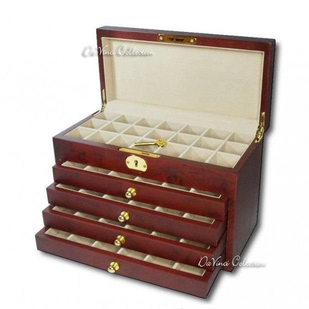 Idee regalo x lui scatole porta accessori davinci - Scatola porta the ...