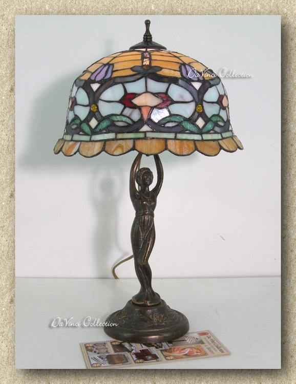 Lampade TIFFANY originali Lampadari liberty Murano Galle' - DaVinci Collection - Complementi d ...