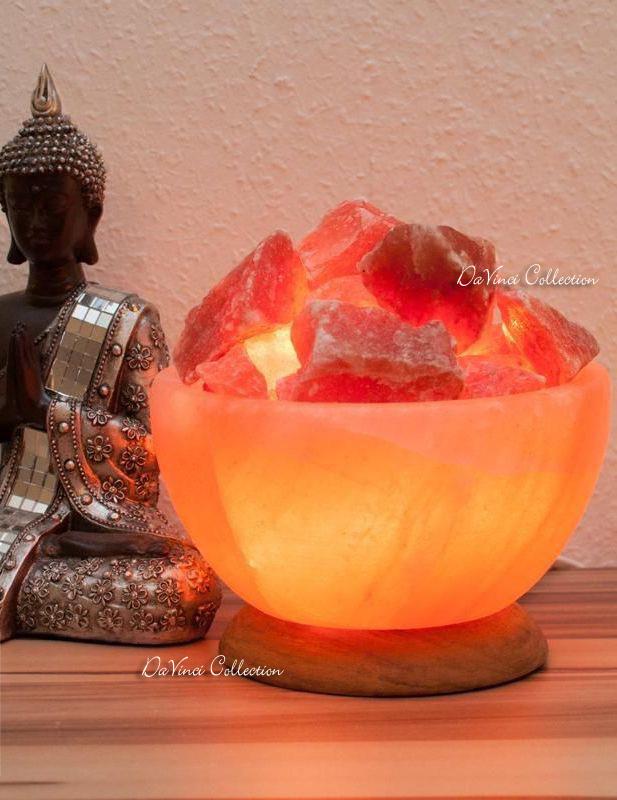 Davinci collection complementi d 39 arredo oggetti da for Lampada sale himalaya